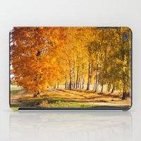 Gold Autumn iPad Case