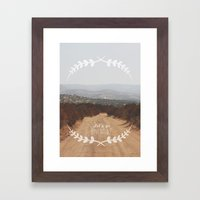 Let's go Adventure Framed Art Print