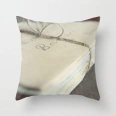 Letters To You Throw Pillow