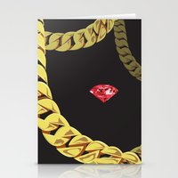 Luxury Red Stationery Cards