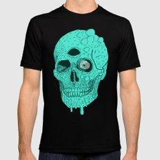 Beetle Skull  Mens Fitted Tee Black SMALL