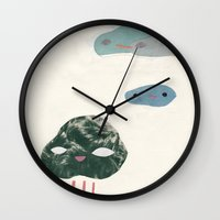 cloudies Wall Clock
