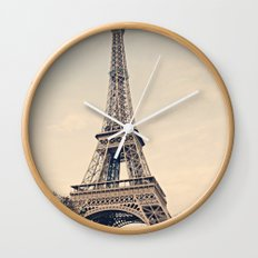 Good Morning Paris Wall Clock