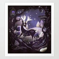 Protector of the Forest Art Print