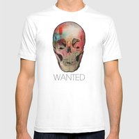 Wanted Mens Fitted Tee White SMALL