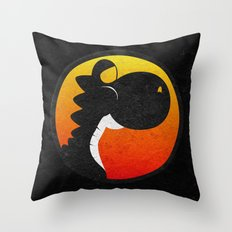 Yoshi Kombat Throw Pillow