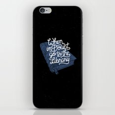 Library iPhone & iPod Skin