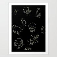 Halloween 2014 Art Print