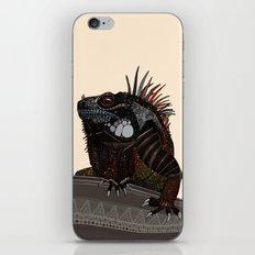 iguana ecru iPhone & iPod Skin