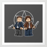 The Brickchesters Art Print