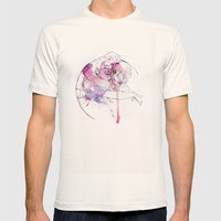 circles - brothers Mens Fitted Tee Natural SMALL