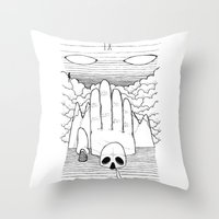 IX Throw Pillow