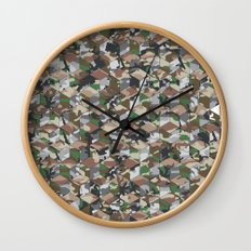 CUBOUFLAGE MULTI (MEDIUM) Wall Clock
