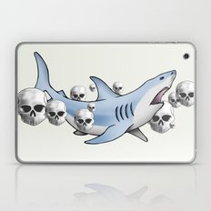 Shark & Skulls Laptop & iPad Skin