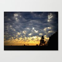 Morning Is Breaking! Canvas Print