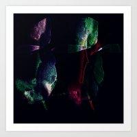 Tropical Darkness Art Print