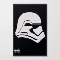 FN-2003 Stormtrooper profile Canvas Print