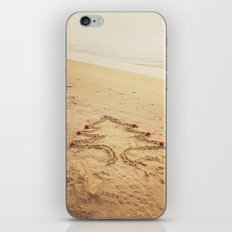 Merry Christmas! - Christmas at the beach iPhone & iPod Skin