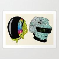 Get Yucky Art Print