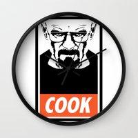 Heisenberg the Cook Wall Clock