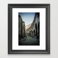 Faded Memories: Colosseu… Framed Art Print
