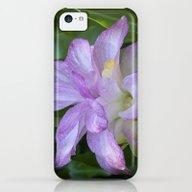 Tropical Pink Flower iPhone 5c Slim Case