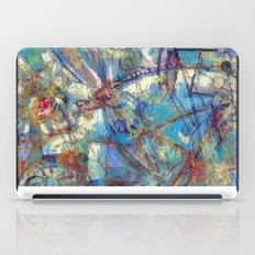 Dragonflies in blue iPad Case