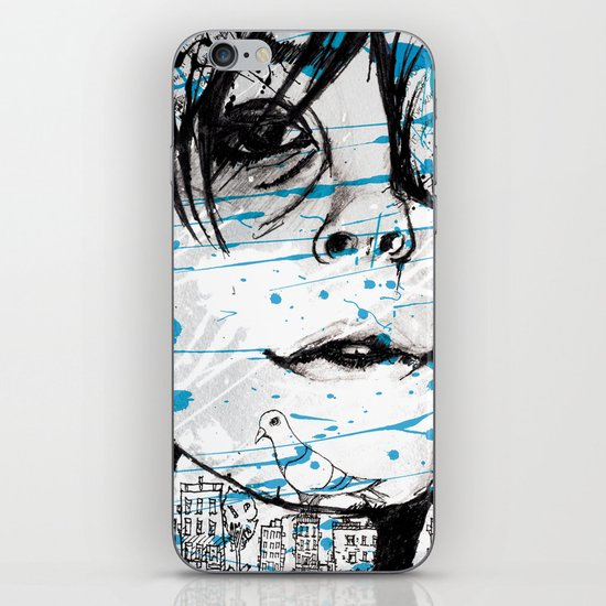 Passing By iPhone & iPod Skin