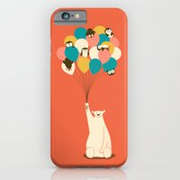 Penguin Bouquet iPhone 6 Slim Case