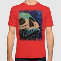 Zombie Stars Mens Fitted Tee Red SMALL