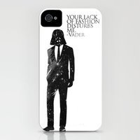 iPhone 4s & iPhone 4 Cases featuring the lord of fashion by H A P P Y J O Y