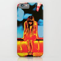 iPhone Cases featuring Sentient by Rendra Sy