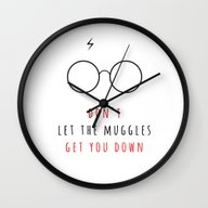 Don't Let The Muggles Ge… Wall Clock