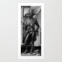 Horatio Nelson Statue - … Art Print
