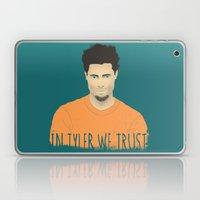 In Tyler we trust Laptop & iPad Skin
