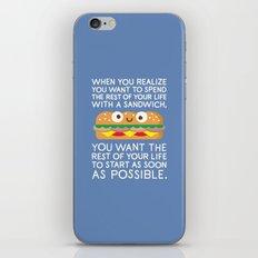 When Harry Met Sandwich iPhone & iPod Skin