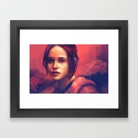 I just need to know... Framed Art Print