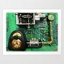 Time Machine Universal Compensator or T.M.U.C. Art Print