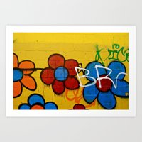 Brooklyn Flowers Art Print
