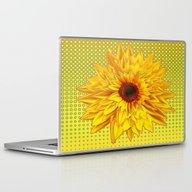 Contemporary All Yellow … Laptop & iPad Skin