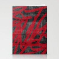 Haphazard. Stationery Cards