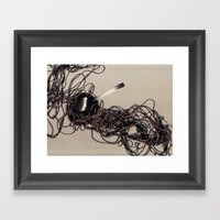 Solid Framed Art Print