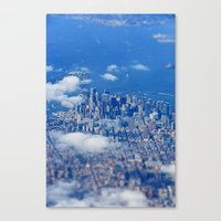 Tiny Manhattan Canvas Print