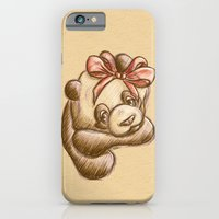 iPhone & iPod Case featuring Pink Bow Precious by parochena
