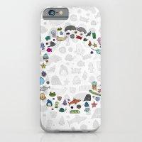 letter c - sea creatures iPhone 6 Slim Case