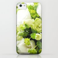 iPhone Cases featuring Bouquet from different white seasonal flowers by yumehana design fine art photography