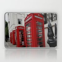 Phone Booths of London Laptop & iPad Skin