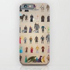 The Pixel Game of Pixel Thrones iPhone 6 Slim Case