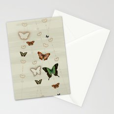 Butterfly Coordinates iii Stationery Cards