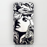Strong Girl iPhone & iPod Skin